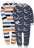 MZL 2-Pack Baby Infant Boy Girl Pajamas Romper Clothes Bodysuit Newborn Jumpsuit