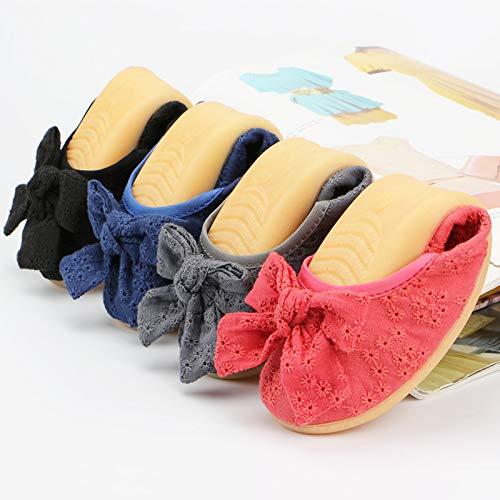 da scarpe portatili pieghevoli FLYRCX scarpe pieghevoli Scarpe basse scarpe nere da da viaggio basse balletto E lavoro donna da wPtXtRq