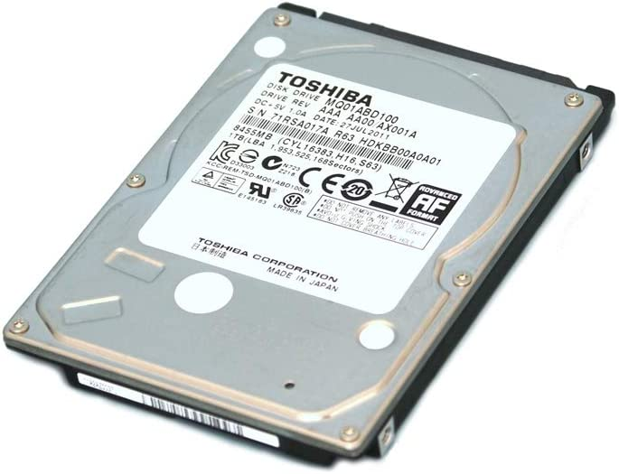 Storite Generic 160 GB 160GB 2.5 Inch Sata Laptop Internal Hard Drive 5400 RPM for Laptop/Mac/PS3 (160 GB)