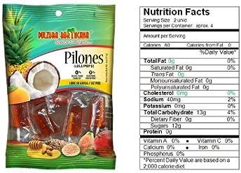 Dulzura Borincana Lollipops/ Pilones 102g