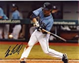 SAM FULD TAMPA BAY RAYS SIGNED 8X10 PHOTO