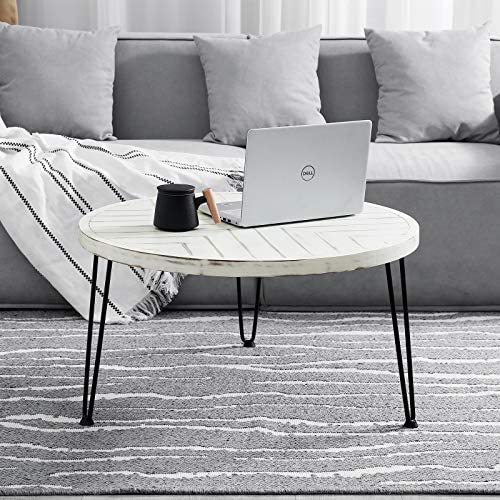 Best living room table: WELLAND Round Coffee Table