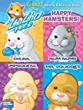 Zhu Zhu Pets Happy Hamsters Giant Coloring and Activity Book