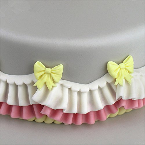 Rurah Bows Mould Fondant Sugar Bow Craft Molds DIY Cake Decorating Home Kitchen Baking Sculpting & Modeling Tools by Rurah (Image #4)