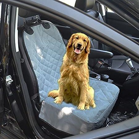 Villexun étanche antidérapant pour animal domestique Seau pour chien Housse de siège de voiture avant Siège Housse de protection pour votre animal de compagnie adapté pour la plupart de voiture camion et SUV