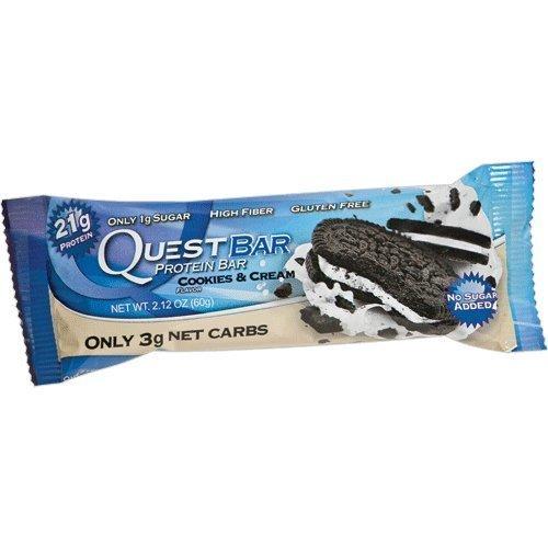 Quest Nutrition - Quest Bar Protein Bar Cookies & Cream - 2.12 oz. by Quest Nutrition