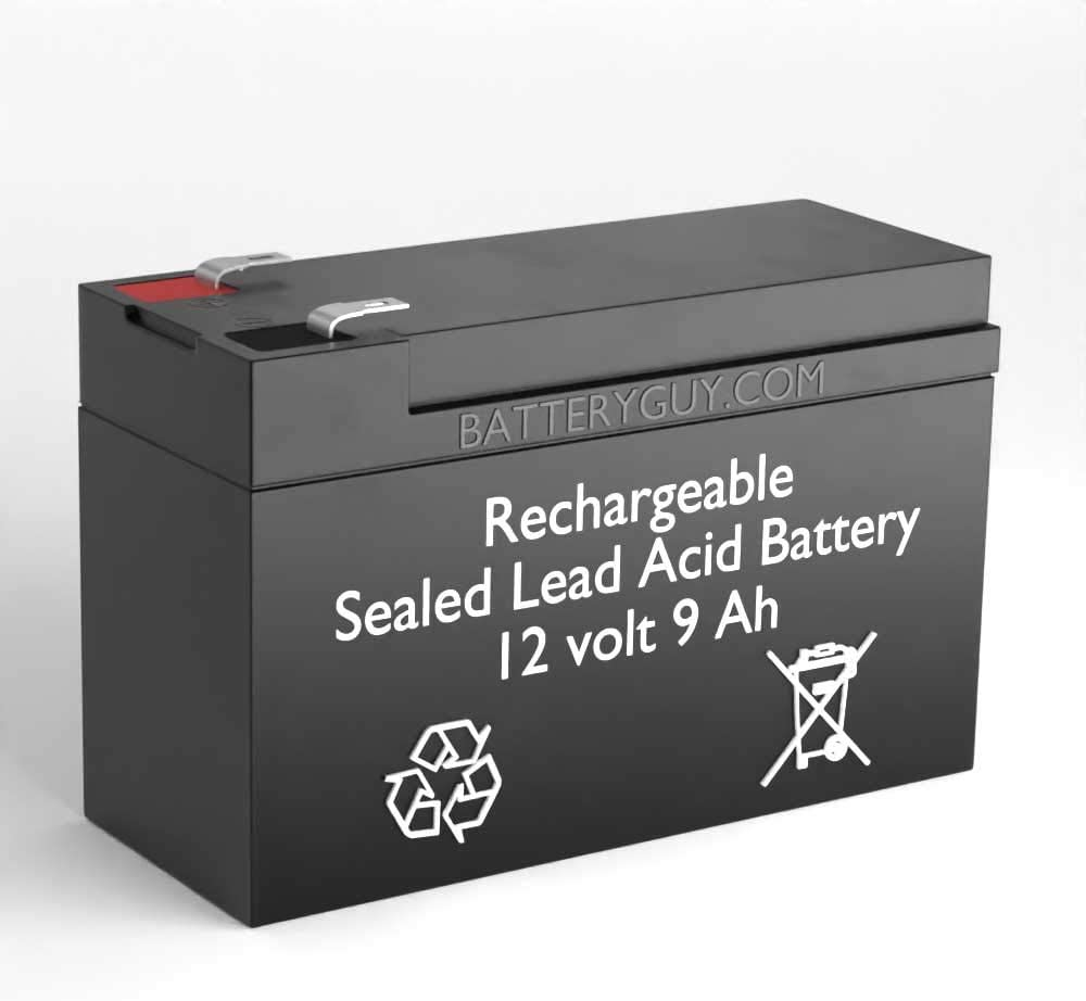 Green Cell/® Batteria AGM 12V 9Ah VRLA Faston F2