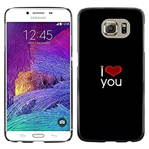 Stuss Case / Funda Carcasa protectora - The Light Of Love - Samsung Galaxy S6
