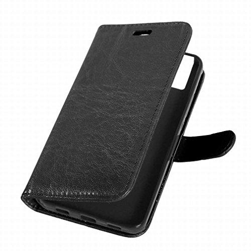 Yiizy Huawei Honor 7i / Shot X Funda, Bastidor Diseño Solapa Flip Billetera Carcasa Tapa Estuches Premium PU Cuero Cover Cáscara Bumper Protector Slim Piel Shell Case Stand Ranura para Tarjetas Estilo