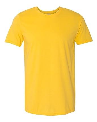 c99a8dc35fda2d GILDAN Softstyle_ Adult Ring Spun T- Shirt: Amazon.co.uk: Clothing