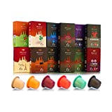 NYXpresso Nespresso Compatible Capsules Variety Pack 120 Pods - Fine, Fresh Ground Coffee Blend - Ecofriendly, Recyclable Cups - Rich, Bold Taste