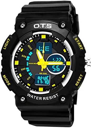Youth outdoor sports watches/Fashion waterproof night electronic watch-D