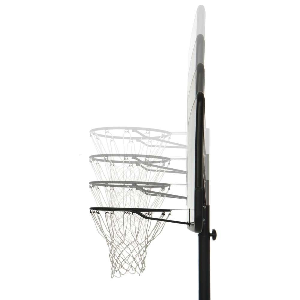 Lifetime 1269 Pro Court Height Adjustable Portable Basketball System, 44 Inch Backboard by Lifetime (Image #5)