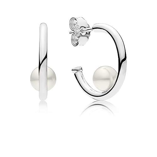 scegli l'ultima 100% di alta qualità Nuovi Prodotti Pandora Orecchini a Cerchio Donna argento - 297528P