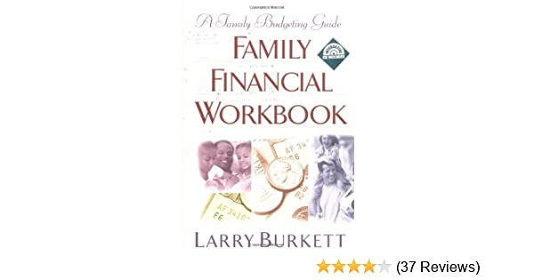 amazon com family financial workbook a family budgeting guide with