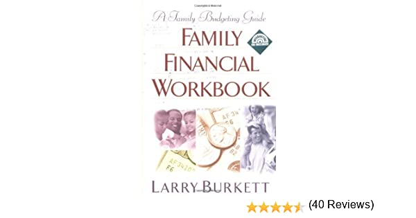 Amazon Family Financial Workbook A Family Budgeting Guide – Larry Burkett Budget Worksheet