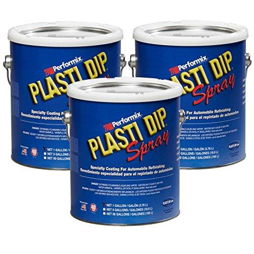 Plasti Dip Multi Purpose Rubber Coating Spray - Camo Green - 1 Gallon (Pack of 3)