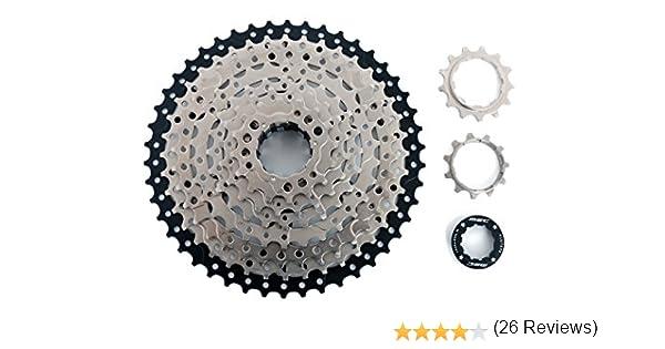 MSC Bikes CSMSC91146 Cassette, Gris, 9V 11-46: Amazon.es: Deportes ...