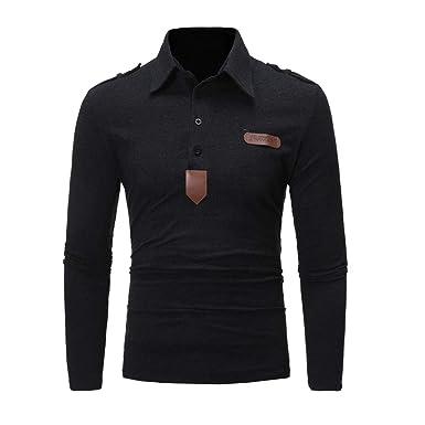 ea9a274f7b6e64 SHEYA ポロシャツ メンズ Tシャツ カットソー 長袖 ロンT エポレット ゴルフウェア トップス カジュアル コーデ 春