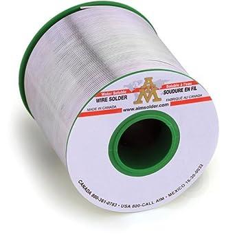 Objetivo de soldadura sac305-ws482 - 3% -020 - 1lb soluble en agua bobina de alambre de soldadura, diseño alargado: Amazon.es: Amazon.es