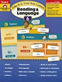 Take it to Your Seat Reading and Language Centers, Grade 6+, Evan-Moor, 1609631196