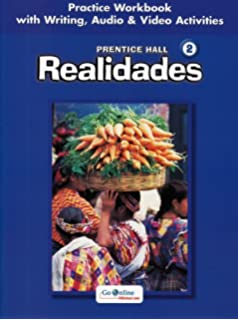 Realidades 2 practice workbook prentice hall 9780130360021 amazon prentice hall spanishrealidades practice workbookwriting level 2 2005c fandeluxe Choice Image