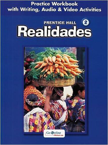 Amazon prentice hall spanishrealidades practice workbook prentice hall spanishrealidades practice workbookwriting level 2 2005c workbook edition fandeluxe Image collections