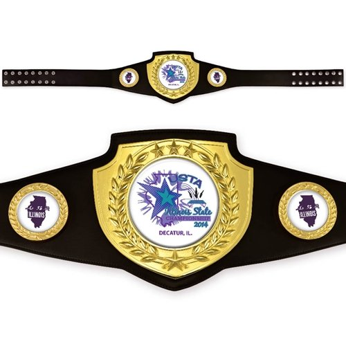Custom Award Belt by TrophyPartner