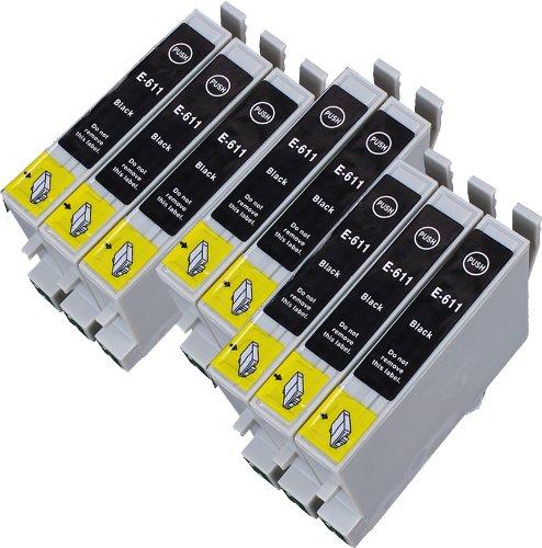 8 Multipack de alta capacidad Epson T0615 Cartuchos Compatibles 8 ...