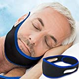 Anti Snoring Chin Strap, Snoring Solution Devices Adjustable Snore Stopper Strap For Sleep Aid For Men Women