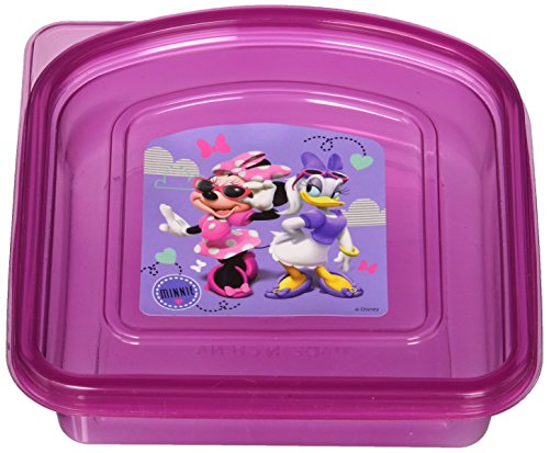 (Minnie Mouse and Daisy Duck Sandwich Container)