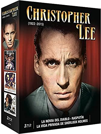 Christopher Lee 3 Blu Ray Dracula Pack [Blu-ray]: Amazon.es: Christopher Lee, Varios, Christopher Lee: Cine y Series TV