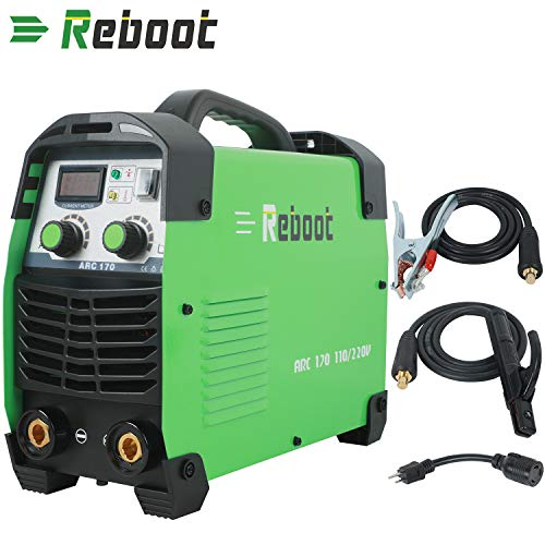 Reboot ARC Welder ARC170 Inverter Dual Voltage 110V/220V DC Lift TIG Portable Welding Machine