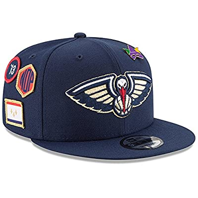 New Era New Orleans Pelicans 2018 NBA Draft Cap 9FIFTY Snapback Adjustable Hat - Navy from New Era