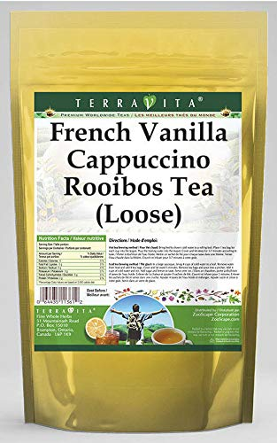 French Vanilla Cappuccino Rooibos Tea (Loose) (8 oz, ZIN: 544355) - 3 Pack