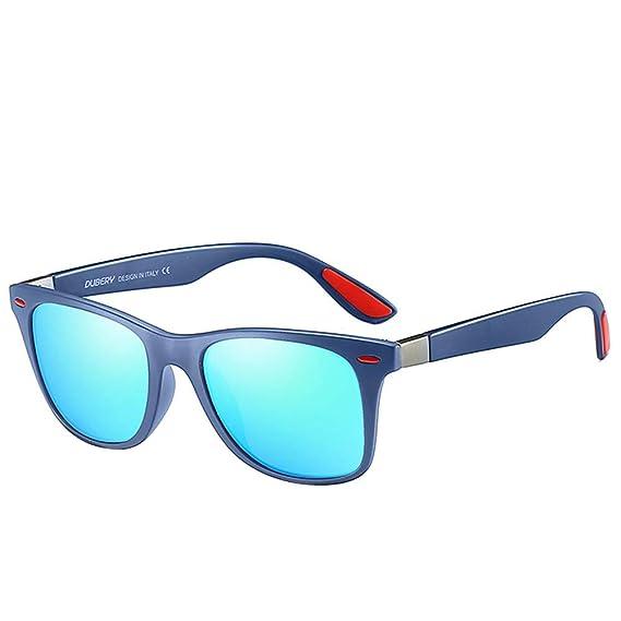 64ef32844c UKLoving Gafas de sol hombre DUBERY polarizadas UV400 Unisex - gafa de sol  para mujer baratas Retro Protección - Conducir al aire libre Hombres  Mujeres ...