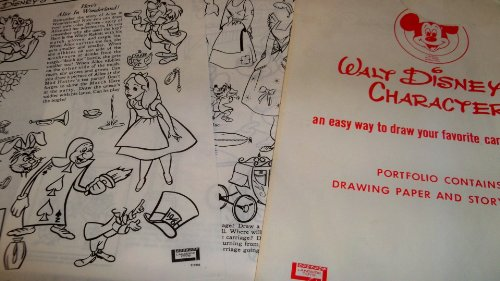 Walt Disney's Character Portfolio Story Drawing Sheets For Electric Drawing Desk (An Easy Way To Draw Your favorite Cartoon Freinds)