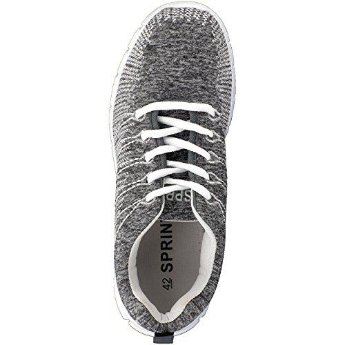Brandsseller nero Brandsseller Grigio nero Brandsseller Sneaker Uomo Sneaker Grigio Sneaker Uomo wxaqg