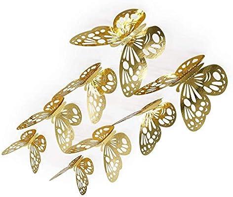 Lcjtaifu Fondo de Pantalla 3D Butterfly Kids Vinilos Decorativos ...