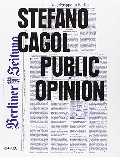 Stefano Cagol. Public opinion. Ediz. italiana e inglese Andrea Viliani