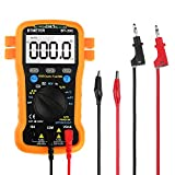 Multimeter BT-39C BTMETER Auto Range Digital Avometer Universal Meter 6000 Counts With NCV, Diode, AC & DC Voltage, AC & DC Current, Resistance, Capacitance, Frequency,Give multimeter leads 9103