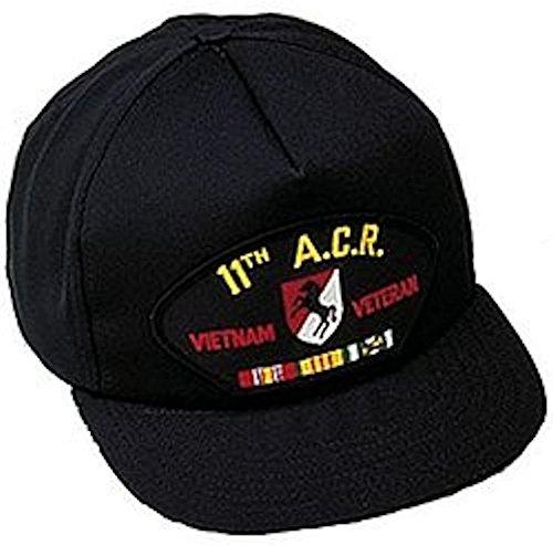 Vietnam Vet Hat Patch - 11th ACR (Armored Cavalry Regiment) Vietnam Vet Ballcap