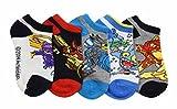 Activision Boys Skylanders Multicolored Ankle Socks, 5 Pairs, Sock Sz M (6-8.5)
