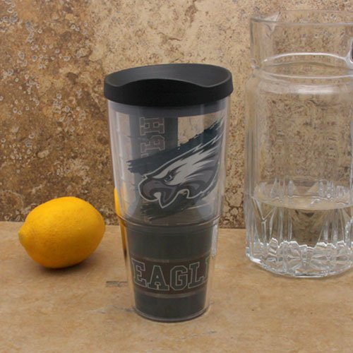 NFL Tervis Tumbler Philadelphia Eagles 24oz. Wrap Tumbler Pro with Travel Lid by Tervis Tumbler