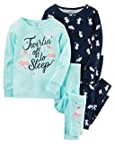 Best Carter's Baby Crib Sheets - Carter's Girls 4 Pc Cotton Pajama Set Review