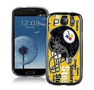 DIY Custom Phone Case For Samsung S3 Pittsburgh Steelers 3 Black Phone Case For Samsung Galaxy S3 Case