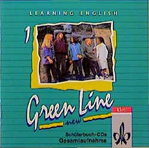 Learning English - Green Line New. Englisches Unterrichtswerk für Gymnasien: Learning English, Green Line New, 2 Audio-CDs zum Schülerbuch Gesamtaufnahme