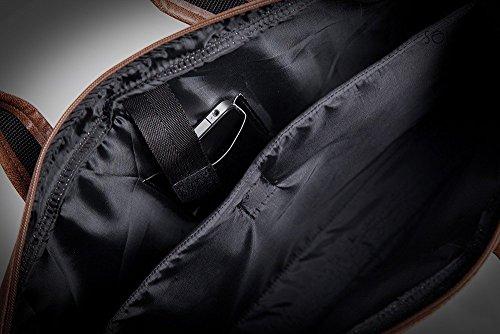 Light Black Laptop Shoulder S13 Bag Brown 0SPwqa