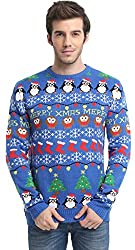 Men's Christmas Decorations Sweater