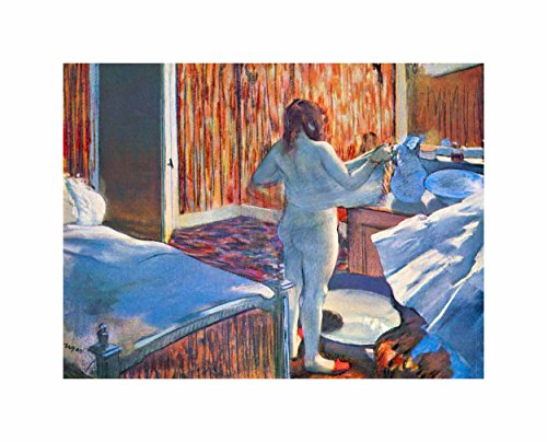 Wee Blue Coo Degas Woman Drying After Bath Poster Print